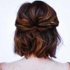 Short-Haircuts-for-Dark-Hair-Updo.jpg 500×500 pixels