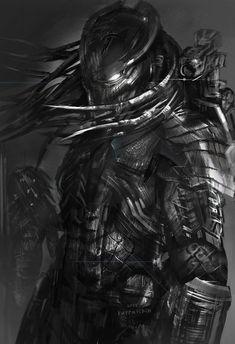 Resultado de imagem para alpha yautja draw #Aliens