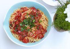 Schnelle Tomaten Pasta