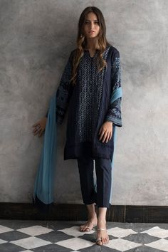 Shop the Nida Azwer Official Website. Browse the latest Pret, Semi-formal and Bridal collections, explore our campaigns and discover our traditional Craft Revival techniques. Simple Pakistani Dresses, Pakistani Fashion Casual, Pakistani Bridal Dresses, Pakistani Dress Design, Pakistani Outfits, Indian Outfits, Indian Fashion, Stylish Dresses, Casual Dresses