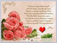 Name Day, Beautiful Roses, Birthdays, Flowers, Piercing, Frases, Saint Name Day, Birthday, Piercings