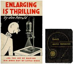 ENLARGING is THRILLING 1945 and Vintage by TransferofTreasures, $22.50