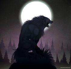 Werewolf Vs Vampire, Werewolf Name, Forest Creatures, Fantasy Creatures, Mythical Creatures, Skin Walker, Wolf Warriors, Epic Art, Character Art