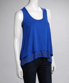 Take a look at this CYNTHIA STEFFE Electric Blue Top by CYNTHIA STEFFE on #zulily today!