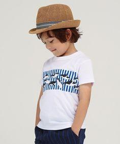 b92291b88ae0a  ZOZOTOWN Tappet(タペット)のTシャツ カットソー「 90-150 ペンギンストライプTシャツ 」(1709-15081B