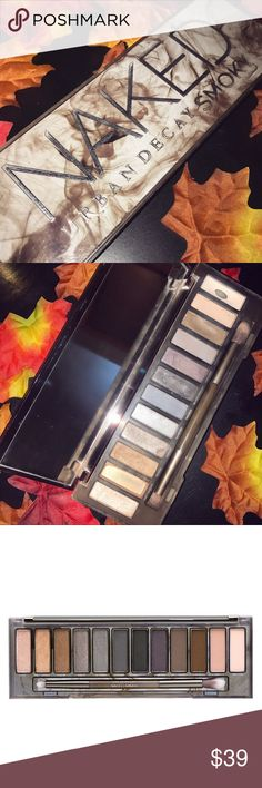 Urban Decay Naked Smoky Palette Urban Decay Naked Smoky Palette - EUC - Used Most Shades Only A Few Times, Mainly Used 'Dirtysweet' and 'Thirteen'; Perfect Colors For Fall! Urban Decay Makeup Eyeshadow