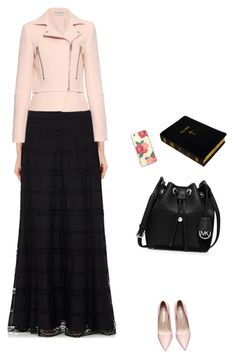 Modest Christian clothing by rosam10150 on Polyvore featuring polyvore fashion style Balenciaga Philosophy di Lorenzo Serafini MICHAEL Michael Kors Sonix women's clothing women's fashion women female woman misses juniors