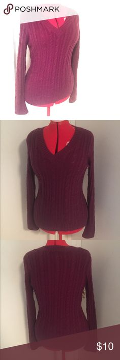 Purple Sweater by Inked and Faded size XL Get ready for winter by grabbing this sweater! Gently used, good condition purple sweater by Inked and Faded. Size XL. Inked and Faded Sweaters V-Necks