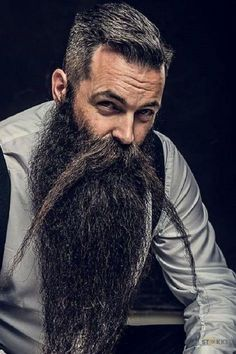 Amazing Beard Styles from Bearded Men Worldwide Amazing Beard Styles From Bearded Men Worldwide From… | Beard styles, Mens hairstyles with beard, Long beard styles