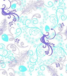 72'' No Sew Fleece Throw-Pretty Bird, , hi-res