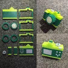 Bildergebnis für perler bead paw print