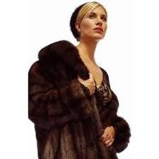 Always wear a fur with nothing on underneath