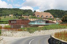 Maison des Vins de La Côte, Mont-sur-Rolle Projet OU'VA, by Plusdesign