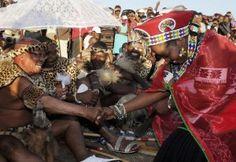 President Jacob Zuma's wedding  for sixth time with new wife, Bongi Ngema