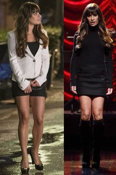 Rachel Berry in Glee. want both of those outfits.