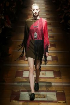 Lanvin @ Paris Fashion Week winter 2014-15 - video
