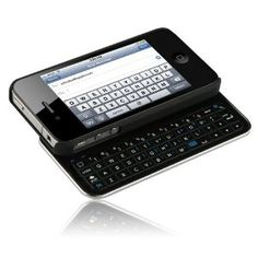 Amazon.com: Ultra-thin Sliding Bluetooth Keyboard for Apple iPhone 4/iPhone 4 CDMA and iPhone 4S: Cell Phones & Accessories