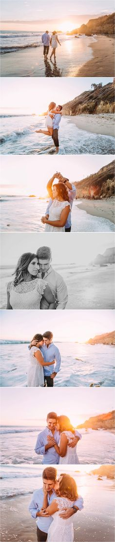 Tyler + Liz// Malibu Engagement | Giny Ann Photography  Malibu Engagement, El Matador State Beach Engagement, Malibu Wedding Photographer, Malibu, California Engagement Photography, Malibu Engagement Photography, Beach Engagement Photography