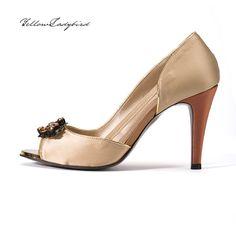 Golden Bridge #heels yellowladybird korean independent designer k-pop luxury