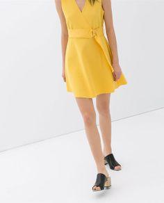 Image 4 of NEOPRENE DRESS from Zara