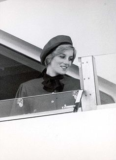 Following in her footsteps: Princess Diana named a P Liner Royal Princess in November 1984