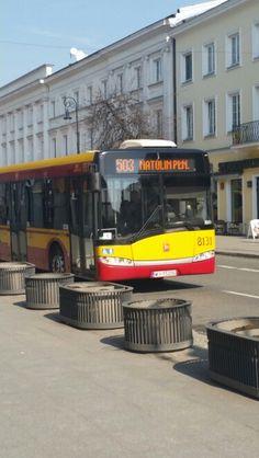Autobus miejski w Warszawie #autobus #autobus miejski #PolskaByBus