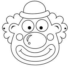maschere-carnevale-bambini-pagliaccio-da-colorare