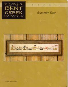 Schema punto croce Summer Row 01