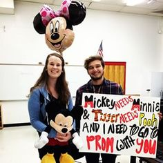 This could make anyone feel like a Disney princess. | 23 Seriously Adorable Prom Proposals Impossible To Say No To