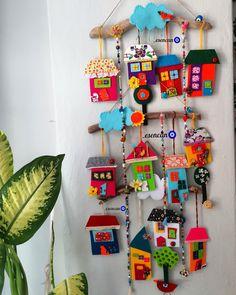 Felt Crafts, Fabric Crafts, Sewing Crafts, Paper Crafts, Home Crafts, Diy And Crafts, Crafts For Kids, Arts And Crafts, Felt Christmas