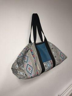 Sac Origamax Week-end ou Sport. Un sac à coudre grâce à ce tutoriel gratuit, en français. Patron de couture !