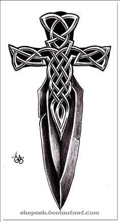 Dagger by shepush http://shepush.deviantart.com/art/Dagger-196437120