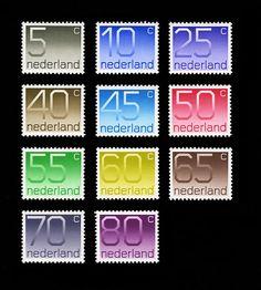 Nederland stamps