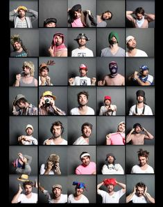 33 super creative self portraits submitted to Pictory's annual creative retreat for photographers.