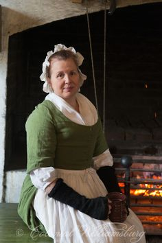 At the Palace Kitchen in Colonial Williamsburg.  Photo by David M. Doody
