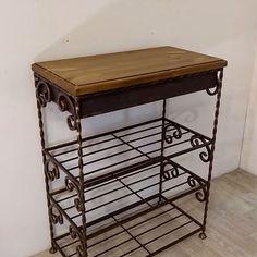 Decor, Table, Metal, Changing Table, Home Decor, Metal Shoe Rack, Furniture