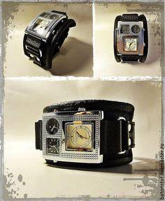 13e94ab5641a Часы ручной работы. Ярмарка Мастеров - ручная работа. Купить Часы наручные  мужские- Рок