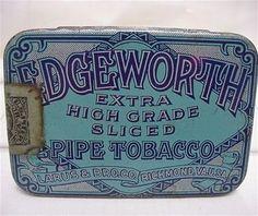 Edgeworth  Pipe Tobacco Flat Pocket Tin