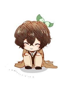 Dazai Bungou Stray Dogs, Stray Dogs Anime, Anime Chibi, Anime Art, Manga, Bungou Stray Dogs Characters, Cute Anime Character, Dazai Osamu, Cute Chibi