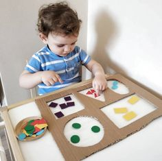 Diy Babyspielzeug lernen - RetroModa, You are in the right place about Montessori Materials printables Here we offer you the most beautiful pictures about the ho Preschool Learning Activities, Infant Activities, Preschool Activities, Preschool Forms, Young Toddler Activities, Toddler Fun, Toddler Crafts, Toddler Toys, Diy Educational Toys