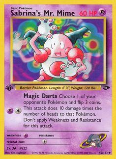 Mr. Mime - Pokemon - Pokémon