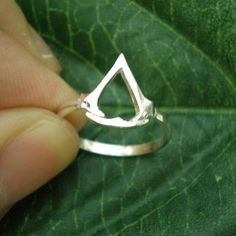 Assassin Symbol Ring  Video Game Jewelry for Gamer by yhtanaff, $32.00