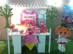 Decorations at a  Lalaloopsy Party #lalaloopsy #party