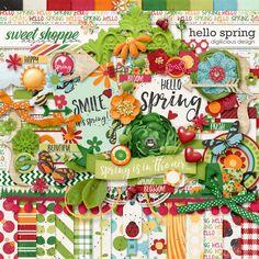 Hello Spring by Digilicious Design