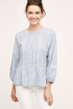 Lawson Peasant Top #anthropologie