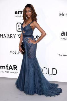 Jourdan Dunn. See what all the stars wore at the Cannes amfAR gala.