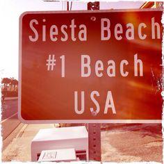 Siesta Key Beach, Sarasota, Florida is #1 in America according to TripAdvisor! #wcicommunities #sarasota