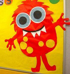 Monster Bulletin for School!