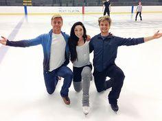 Derek Hough Choreographs Olympic Ice-Dancing Routine| Winter Olympics 2014, Derek Hough, Meryl Davis