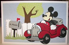 ** My Paper Craft World aka CWC - Cooking With Cricut**: Mickey and Friends